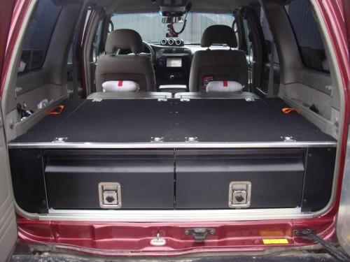 Zabudowa Szufladowa Nissan Patrol Y61 Gu4