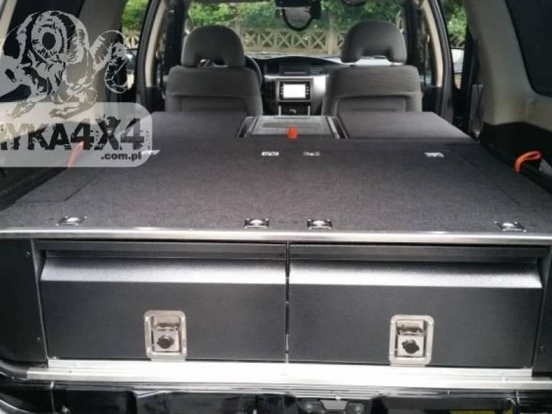 Zabudowa Sypialna Nissan Patrol Y61 Gu4